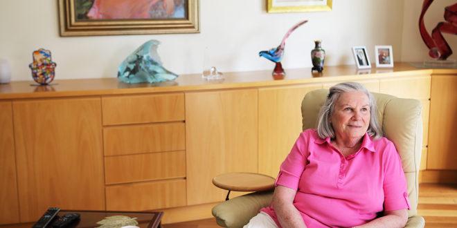 Holocaust survivor in Sydney, Francine Lazarus